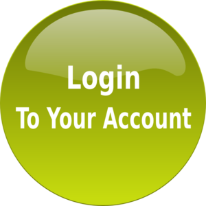 Green circle Login to your account button